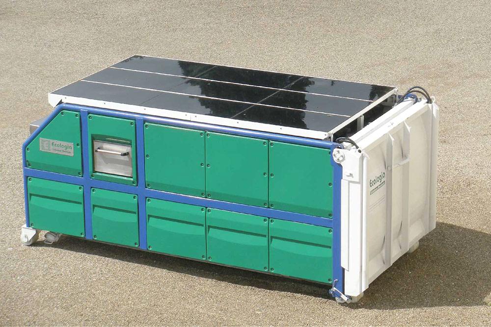 Compactoare supraterane K Solar 10 mc